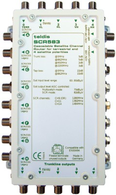 SCR583 5 wire SCR switch
